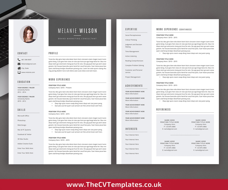good design resume format
